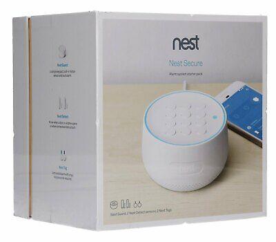 Brand New Sealed Nest - Secure Alarm System Starter Pack. White