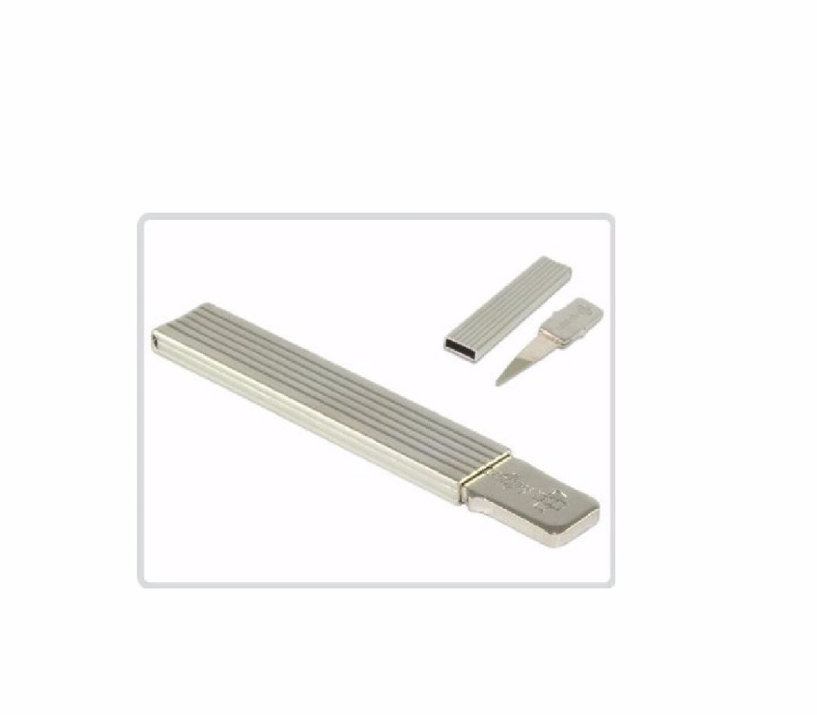 MAYA Dauerzahnstocher mit dem reinen Silberblatt 835° (EINE KARTE MIT 12 Stck.)