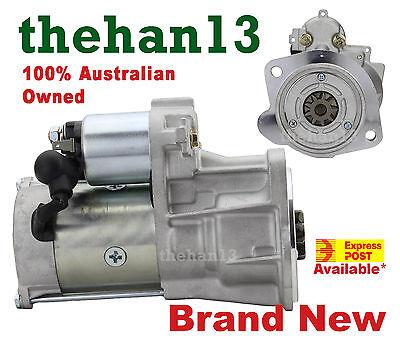 Starter Motor for Nissan Navara D22 4WD engine ZD30ETi 3.0L Diesel 12/01-12/08
