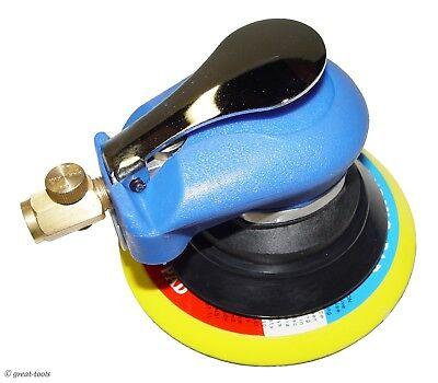 "RANDOM ORBIT AIR SANDER, 6"" – pneumatic automotive sanding tool tools auto body"