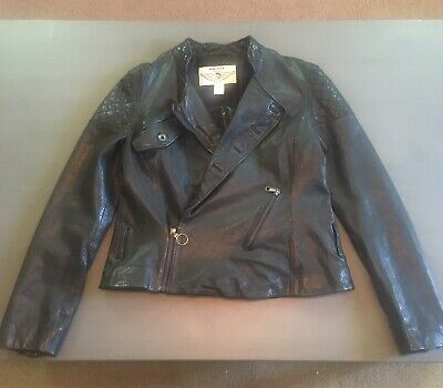 Diesel Leather Jacket Medium Size