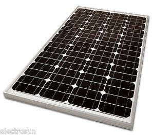 panneau module solaire monocristallin 12v 100w photovoltaique camping car promo ebay. Black Bedroom Furniture Sets. Home Design Ideas