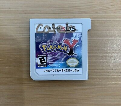 Pokemon Y ( Nintendo 3DS, 2013) - Ships Same Day