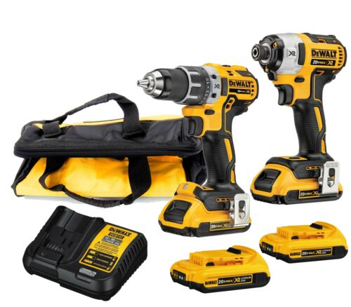 DEWALT DCK283D2 MAX XR Lithium Ion Brushless Compact Drill/D
