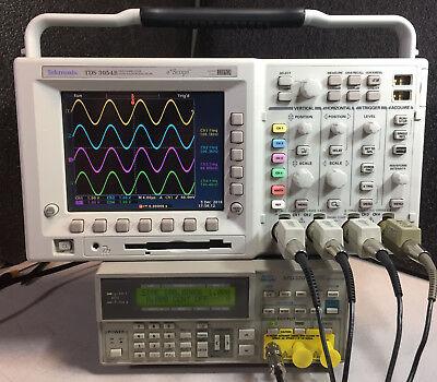 Tektronix Tds3054b 4 Ch Dpo Oscilloscope 500mhz 5gsas Options