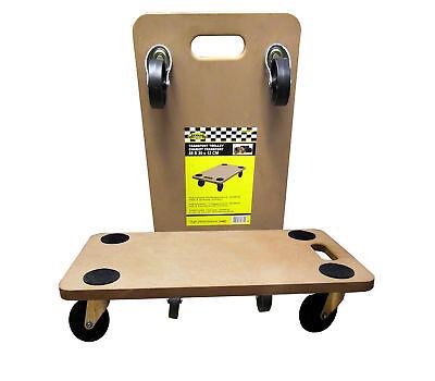 2 Rollbrett 200 kg Transportrolle Transporter Möbelhund Möbelroller Möbel Roller