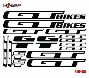 bike stickers frame dirt gt mtb bmx road hybrid tube restoration bicycle BMP057 eBay