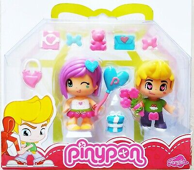 Pinypon Best Friends Boy and Girl Pinypon Doll with Accessories ( 2 Figures)