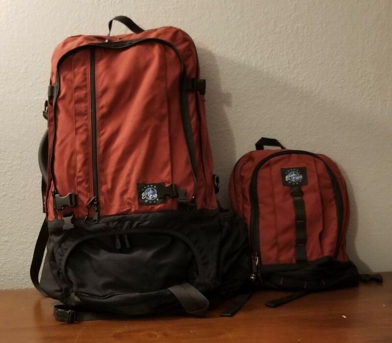 Eagle Creek hiking bag plus backpack.