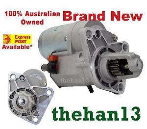 New Starter Motor For Kia Pregio Van  J2, 2.7L Diesel