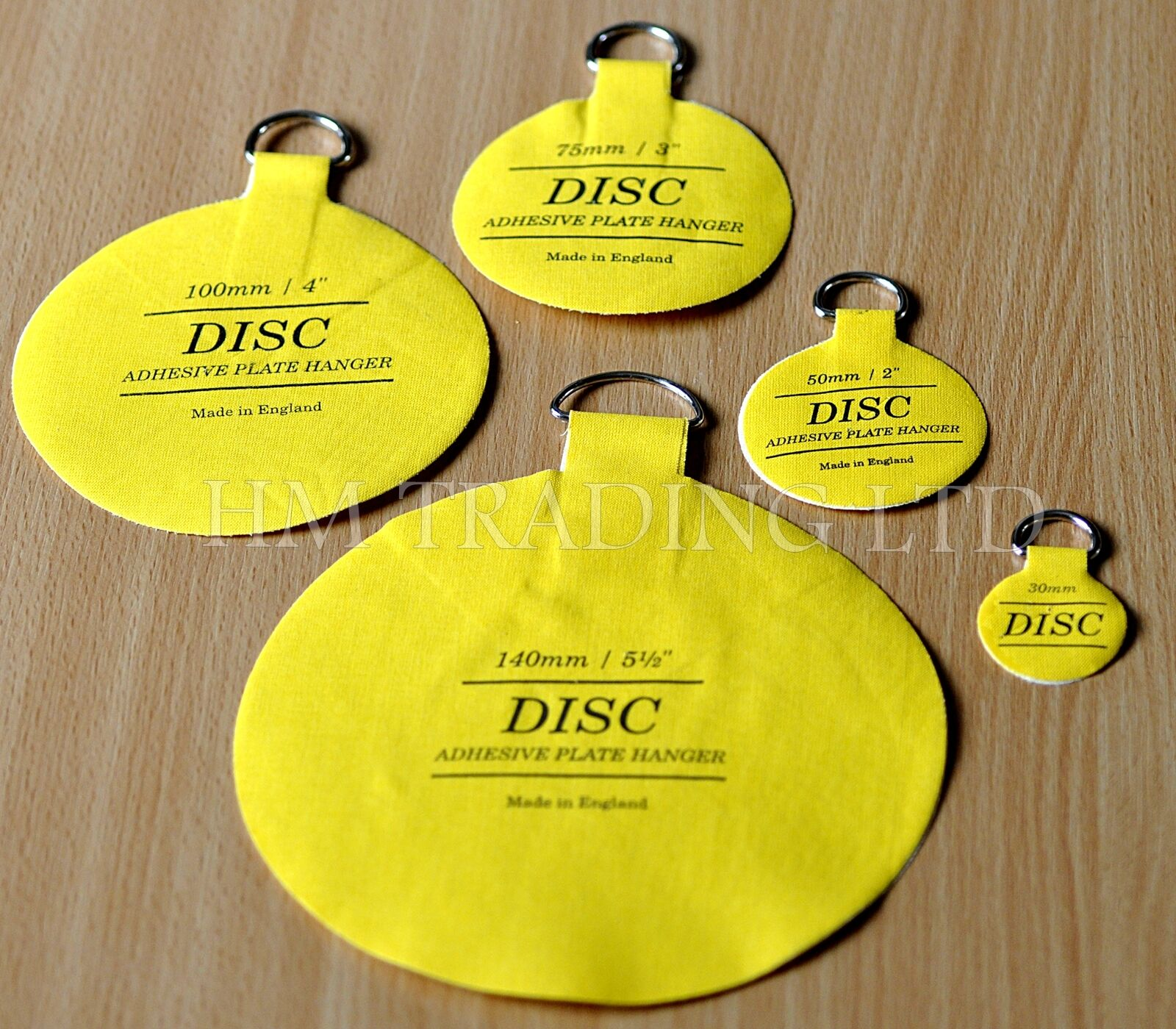 Plate Picture Hanger Disc Self Adhesive Stick on Invisible Hook 5 ...