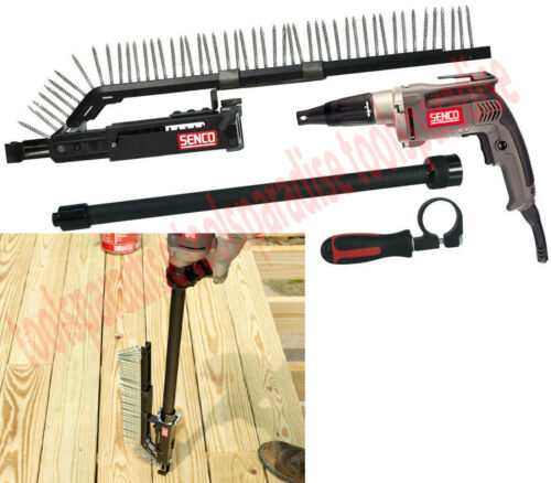"Electric Automatic Load Auto Feed LONG SCREWDRIVER 1"" - 3"" Screw Gun"