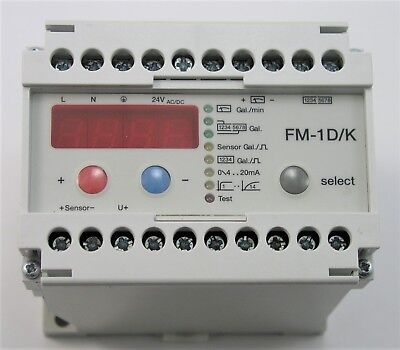 Sensus Metering Fm-1dk Frequency Counter Meter - No Box