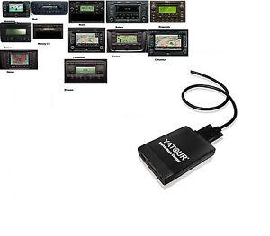 USB SD AUX Adapter CD-Wechsler MP3 12 Pin SKODA Amundsen Nexus Bolero Beat