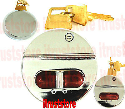High Security No Shackle Round Pin Padlock Shackless Puck Lock