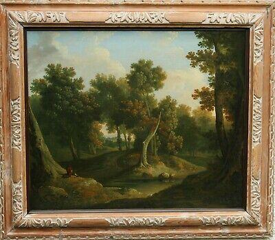 JAMES ARTHUR O'CONNOR (att) IRISH ART OLD MASTER LANDSCAPE OIL PAINTING 1830
