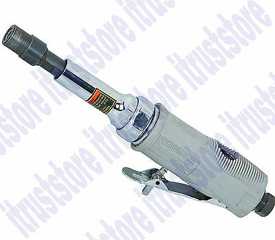 """1/4"""" LONG REACH AIR STRAIGHT HAND HELD WAND DIE GRINDER WITH 3 IN EXTENSION TOOL"""