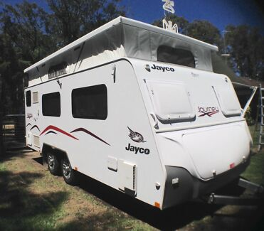 Jayco Journey  17-55-9 Pop Top Caravan 2015 Salt Ash Port Stephens Area Preview