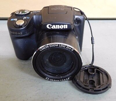 Canon PowerShot SX510 HS 12 MP Digital Camera - NOT TESTED - For Parts