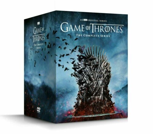 GAME OF THRONES THE COMPLETE SERIES SEASONS 1-8 DVD 38 DISC BOX SET NEW