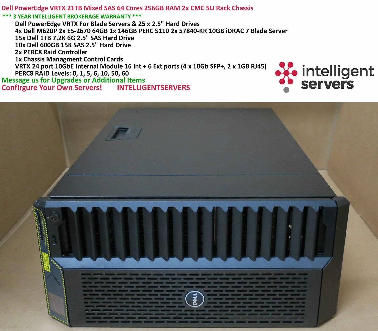 "1 Year Warranty New Dell PowerEdge M620 600GB 15K SAS 6G 2.5/"" Hard Drive"