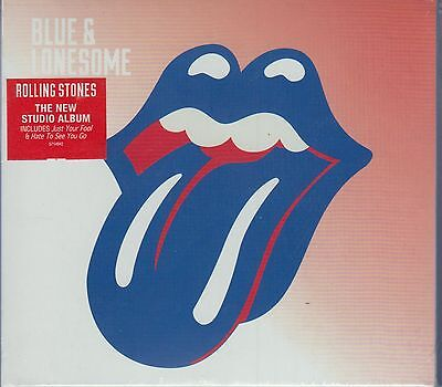 Blue And Lonesome By The Rolling Stones      Cd  New  Atlantic  Usa Seller