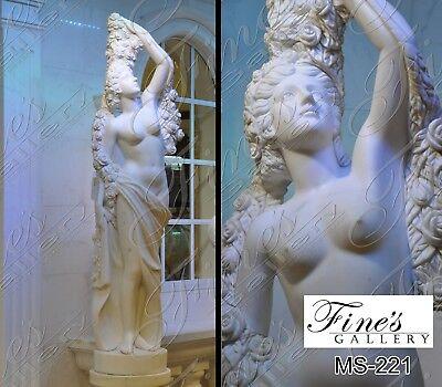 Flora Marble Statue