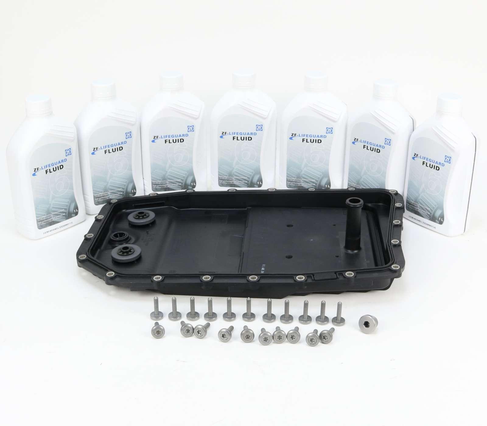 ZF Ölwechsel Kit mit Getriebeöl für BMW Automatikgetriebe 6HP26, 6HP28 und 6HP32