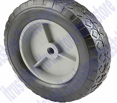 Hub Solid Rubber Wheels - 8