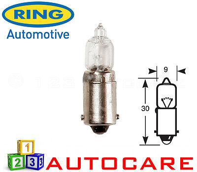Ring R418 12v 23w Amber Indicator Halogen Light Bulb BA9S