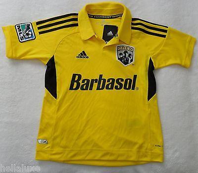 5d233480fbb NWT~Adidas COLUMBUS CREW MLS USA Football Soccer Jersey Shirt Top~Kid YOUTH  sz S