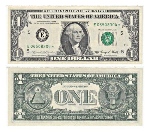 1969-D $1 Richmond District Federal Reserve Star Notes FR 1907-E* Uncirculated