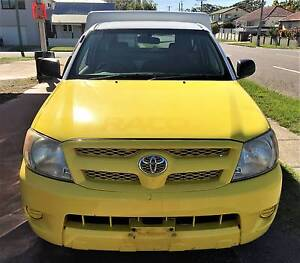 2007 TOYOTA HILUX WORKMATE TGN16R 06 UPGRADE C/CHAS STOCK #16107 Lota Brisbane South East Preview