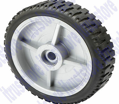 8 Inch Solid Hard Rubber Replacement Tire Wheel Steel Rim Hub Dolly Hand Cart