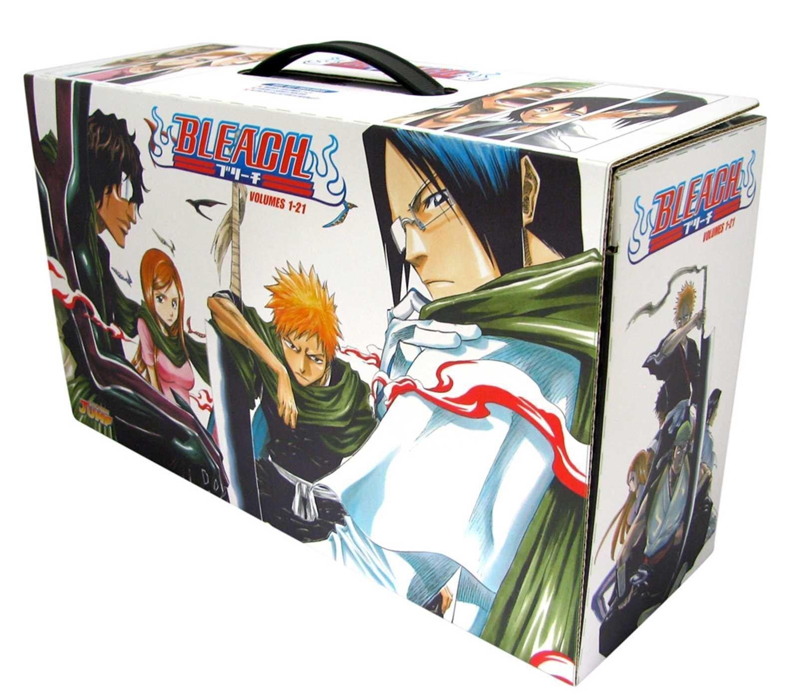 Bleach Box Set 1: Manga Volumes 1-21 Collection Gift Pack ...