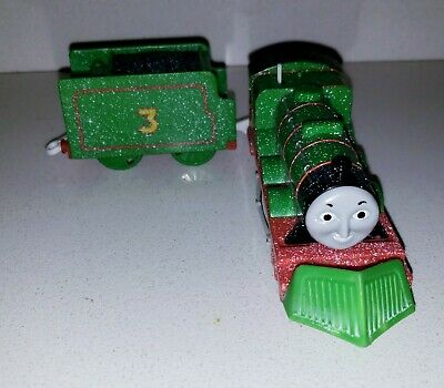 Thomas & Friends Trackmaster Motorized Toy Train Snow Clearing Henry & Tender