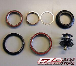 Serie-sterzo-bici-da-1-034-e-1-8-1-2-conica-integrata-su-cuscinetti-A-Head-Set