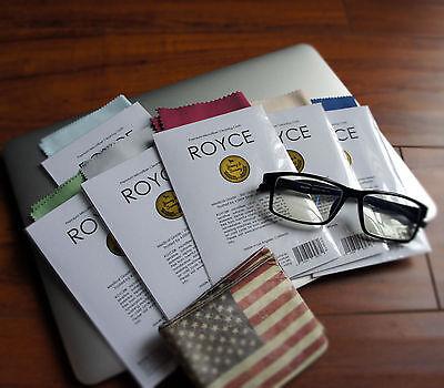 6 Pack Microfiber Cleaning Cloth for Eyeglasses Tablet Screen TV Phone Lens : )