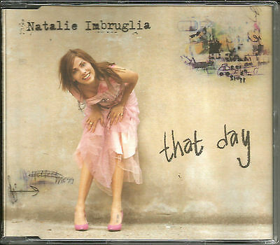 Natalie Imbruglia That Day W  2 Unreleased Trx   Video 2001 Uk Cd Single Sealed