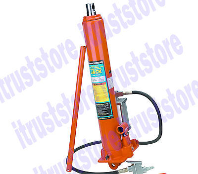 Air Powered 8 Ton Over Hydraulic Long Ram Jack Lift For Press Picker Hoist Tool