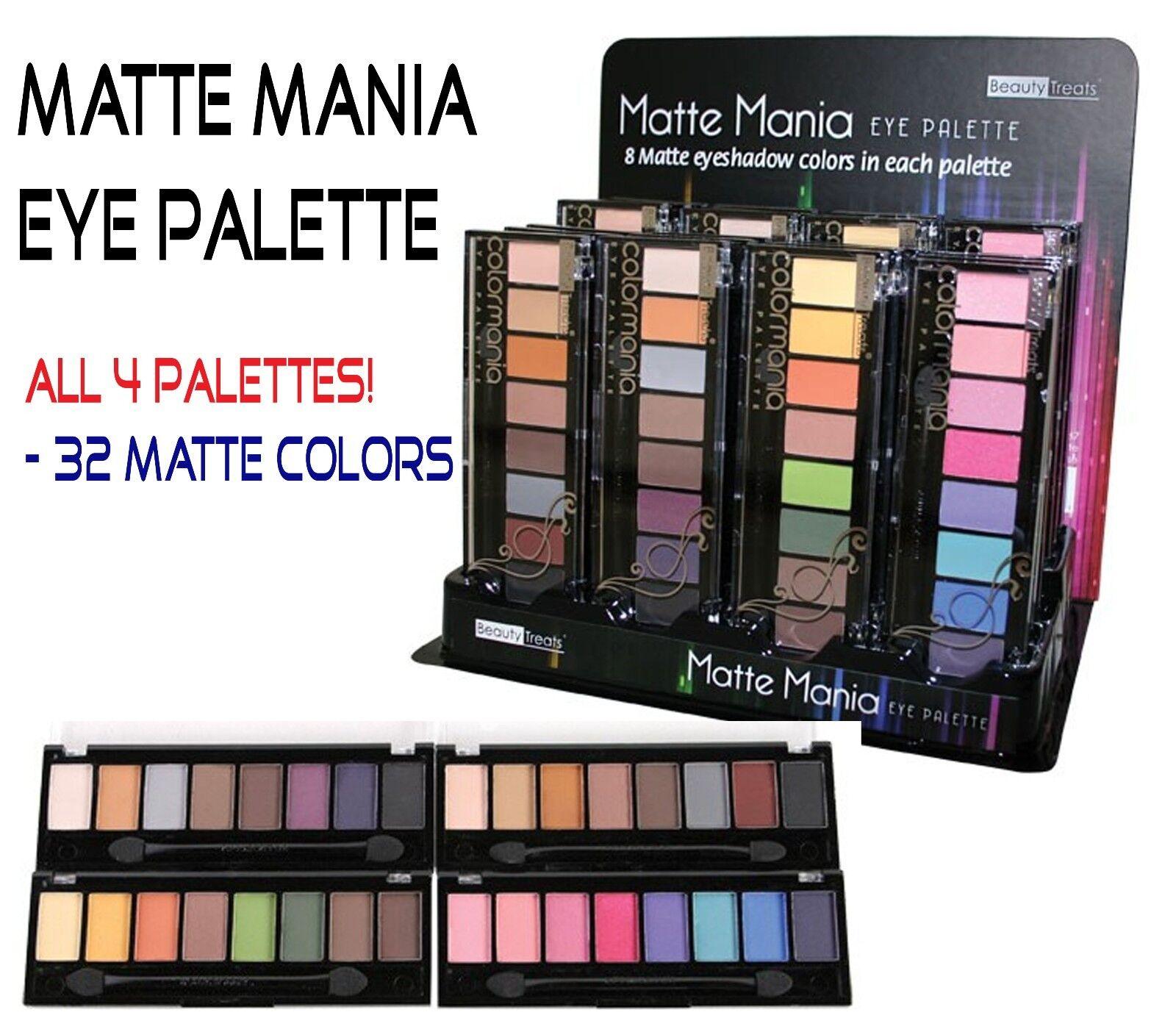 Beauty Treats Eyeshadow- 32 Matte Finish Eyeshadow Colors~ *