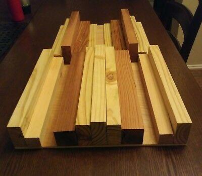 One pair (12 inch square each)Studio  Acoustic Quadratic Sound Diffuser Panel.