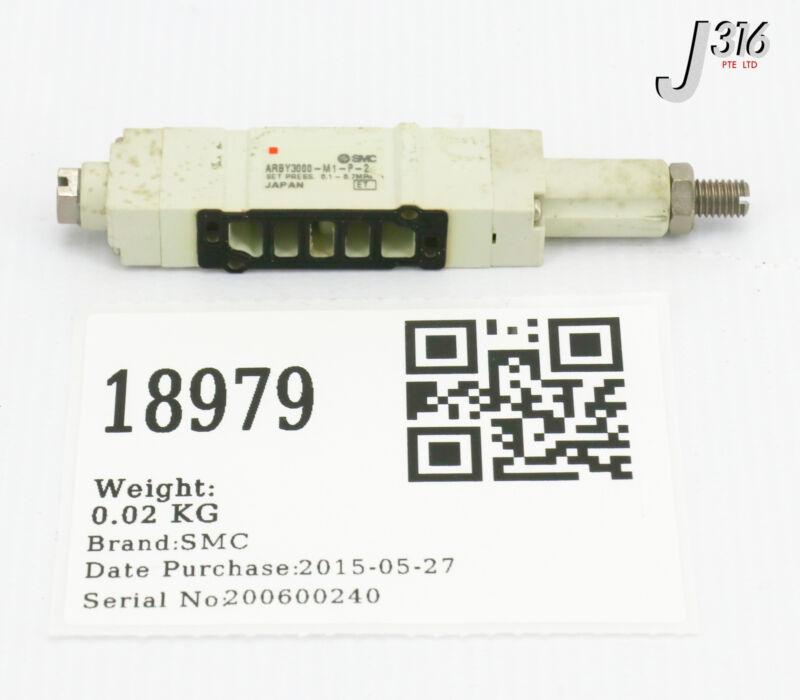 18979 SMC ELECTRONIC VALVE 0.1-.7MPA ARBY3000-M1-P-2