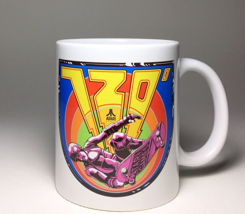 720 Arcade Ceramic Coffee Cup Skateboard Mug 11oz Atari NEW