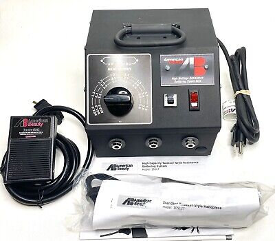 American Beauty 105l7 High Capacity Tweezer-style Resistance Soldering System