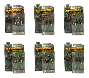 OURWAR-WWII-German-Wehrmacht-Infantry-1-18-3-75-Inch-Complete-Set-Action-Figures