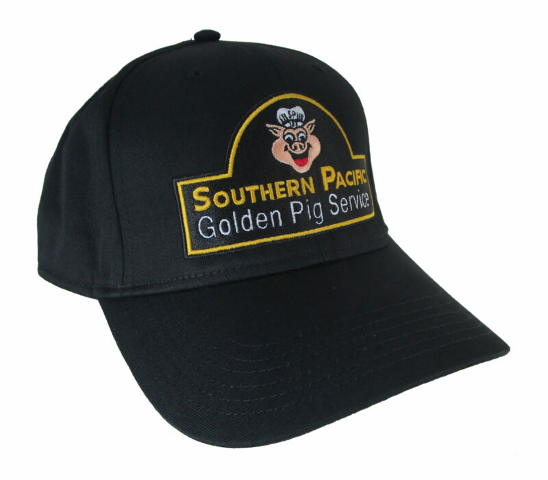 Southern Pacific Golden Pig Service Embroidered Railroad Cap Hat #40-5100