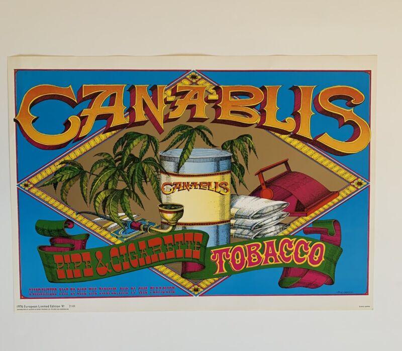 Rick Griffin Original Canablis Poster