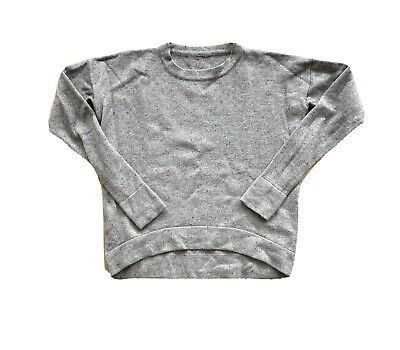 LULULEMON Knit Sweater Light Gray Womens Sz XS/S