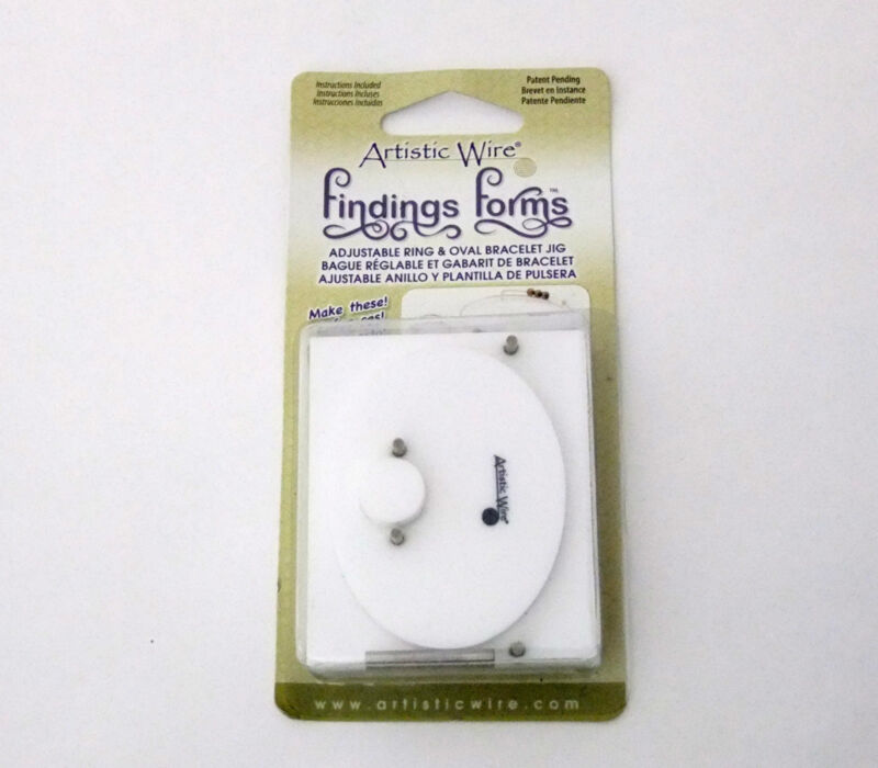 Combo Wire Bending Jig For Adjustable Rings And Bracelet Forms